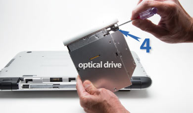 Replace your Optical Drive with a 2nd HDD/SSD : NewmodeUS