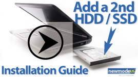 HP ZBook HDD Caddy installation guide